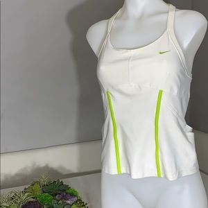 Nike DriFit Built in Bra w/ side and back cut outs